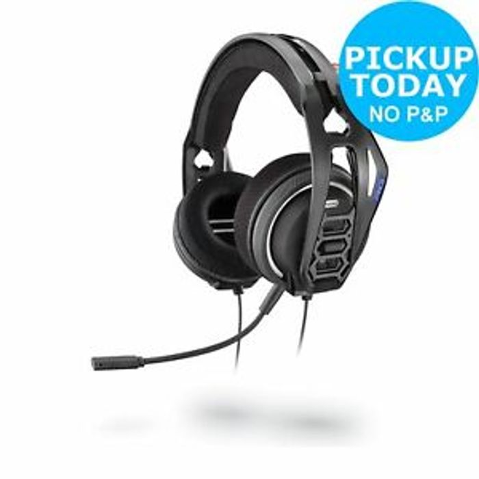Plantronics RIG 400HS Sony Playstation PS4 Headset - Grey Click & Collect
