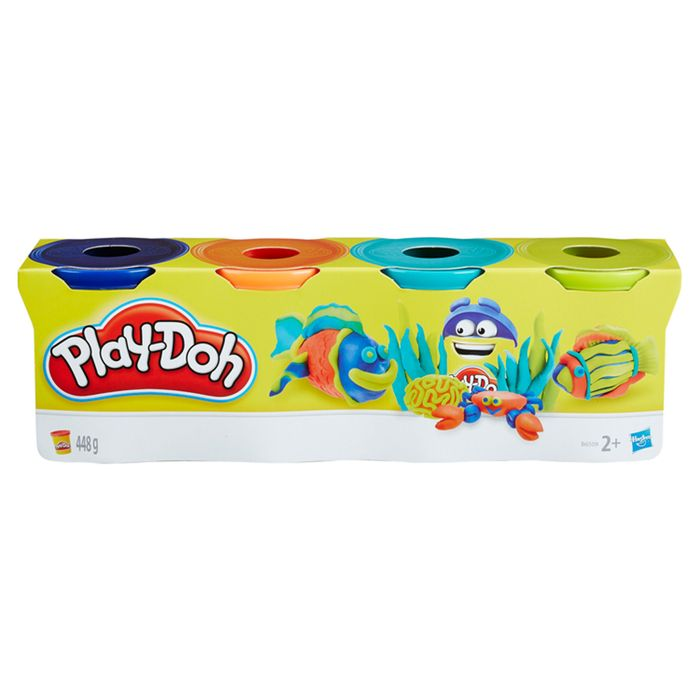 Play Doh Classic Colours 4 Pack £3.50 per Pack Buy One Get One Free