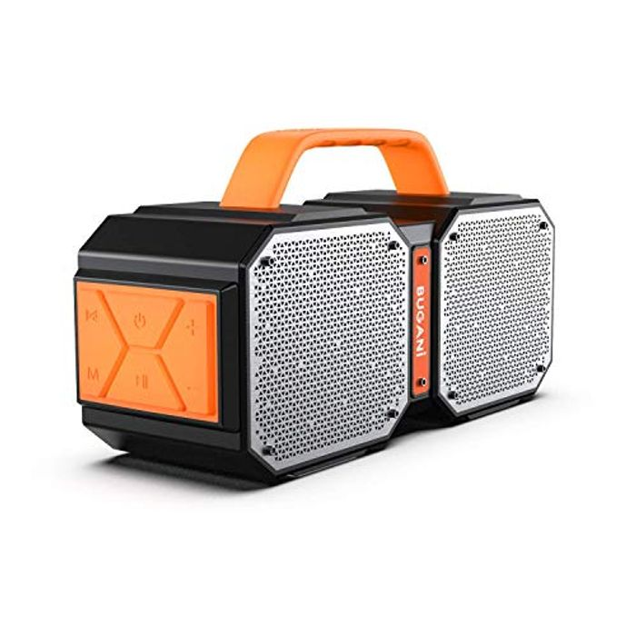 Bluetooth Speaker 5.0, Bugani M83 Portable Outdoor Waterproof Bluetooth Speaker