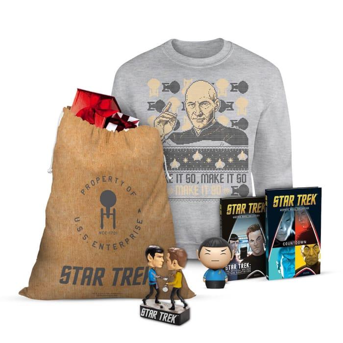 Star Trek Officially Licensed MEGA Christmas Gift Set