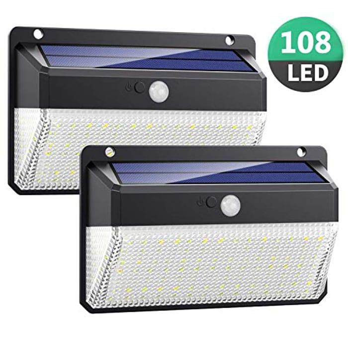 LED Motion Sensor Security Outdoor Lights