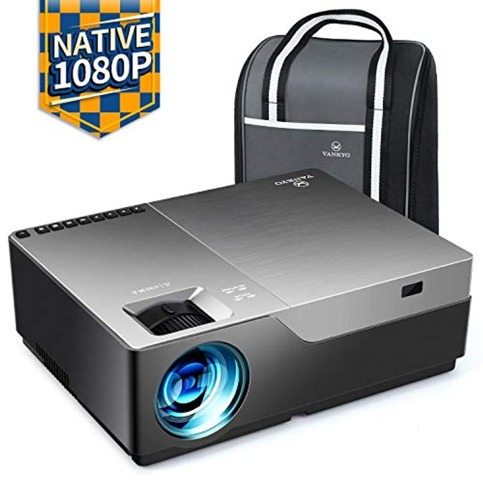 V600 Native 1080P LED Projector,