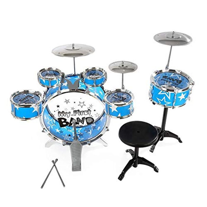 FastDirect Children's Simulation Drum Set
