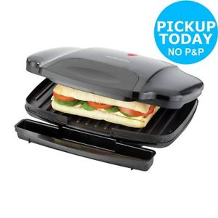 Cheap 4 Slice Panini Grill at Ebay Only £9.99!
