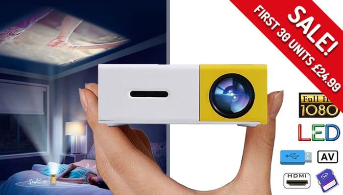 Portable LED Pocket Projector