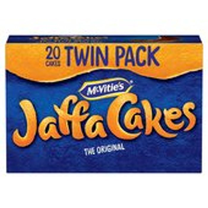 McVitie's Jaffa Cakes Twin Pack 20Pk 244g