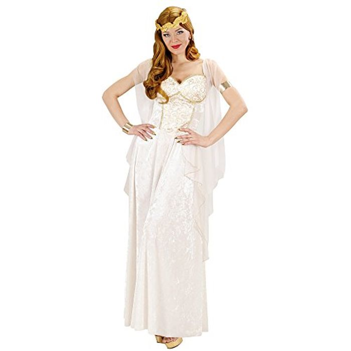 Ladies Greek Goddess Costume Large UK 14-16 - Toga Party Fancy Dress Halloween