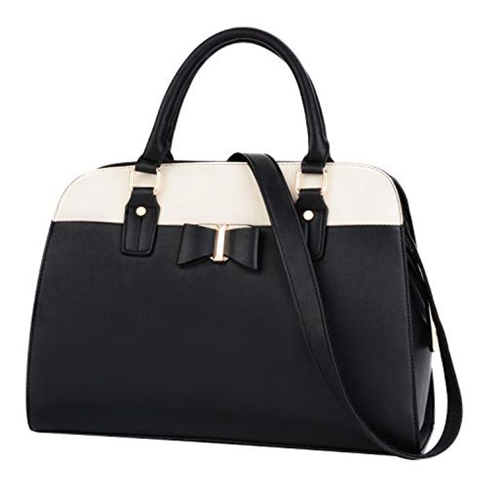 Leather Tote Handbag 50% Off with Voucher Code