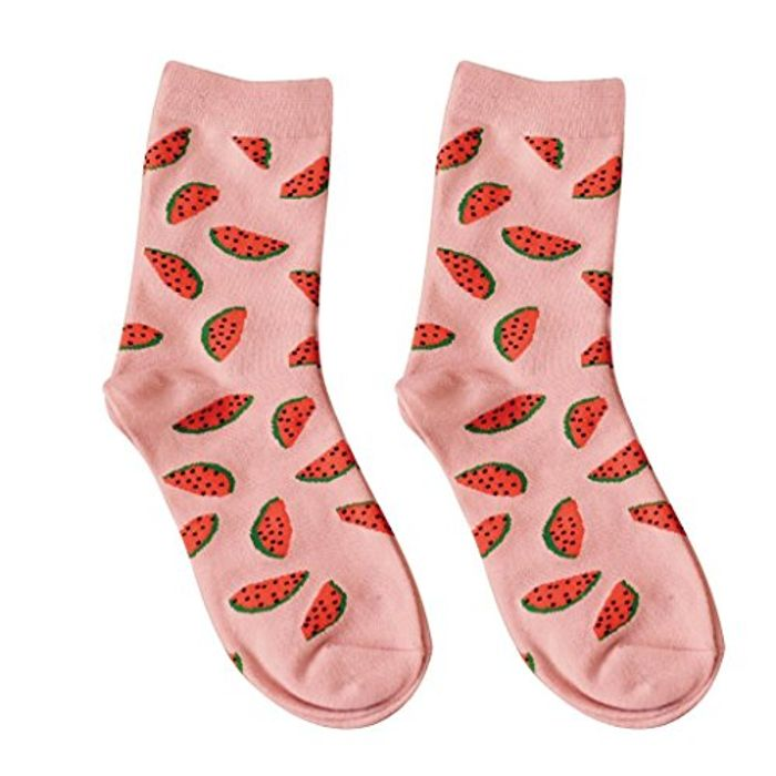 Juicy Watermelon Socks for £2.05 Delivered