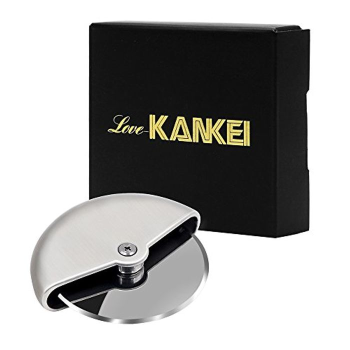 Love-KANKEI Pizza Cutter/Pizza Wheel/Pizza Slicer Stainless Steel