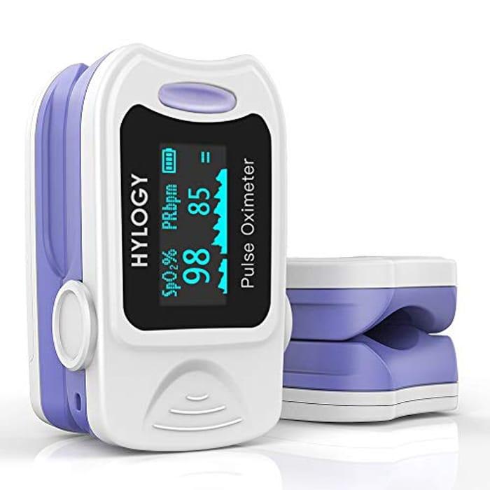 HYLOGY Pulse Oximeter Fingertip Blood Oxygen Saturation