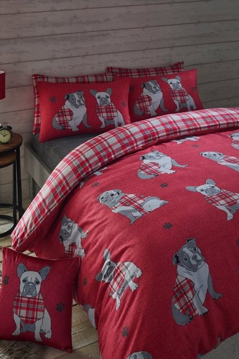 Hamish Check Brushed Cotton Flannelette Duvet Set