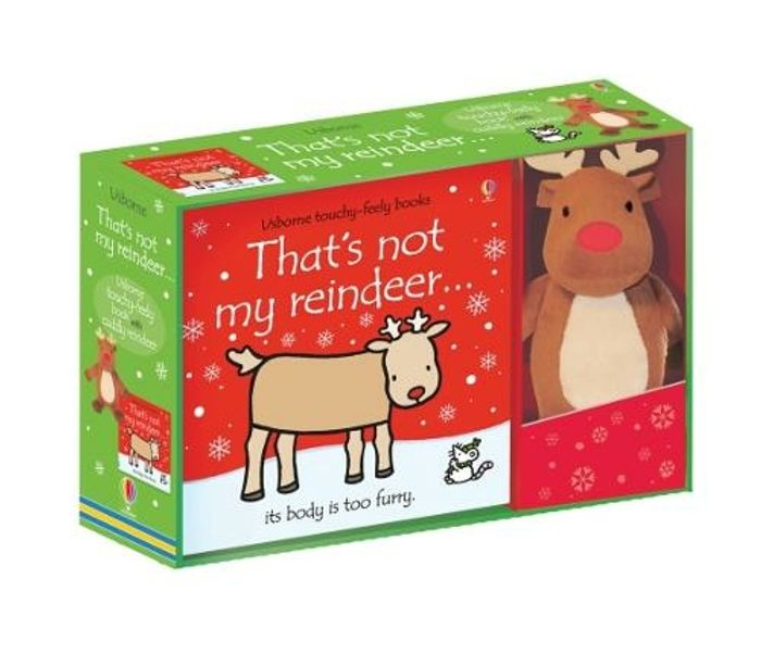 That's Not My Reindeer Book and Toy HALF PRICE