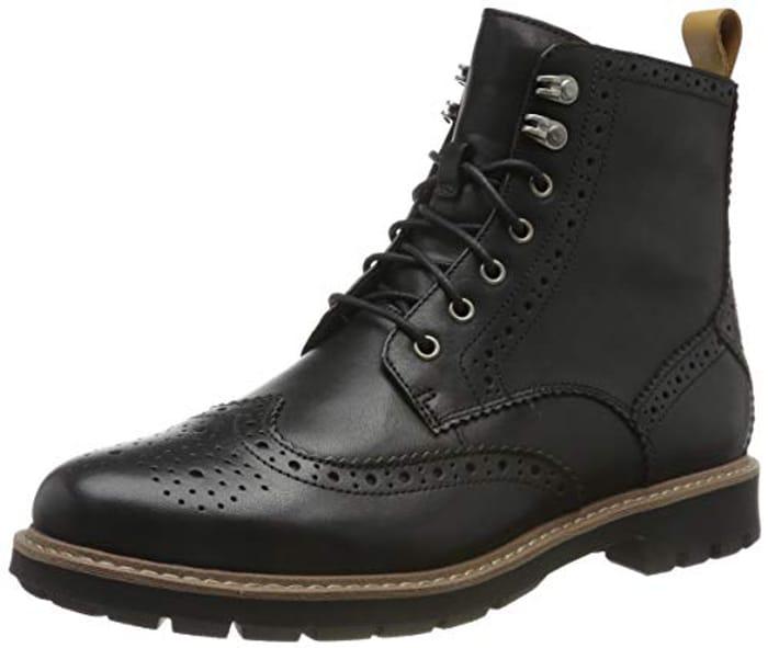 Clarks Batcombe Biker Shoes at Amazon