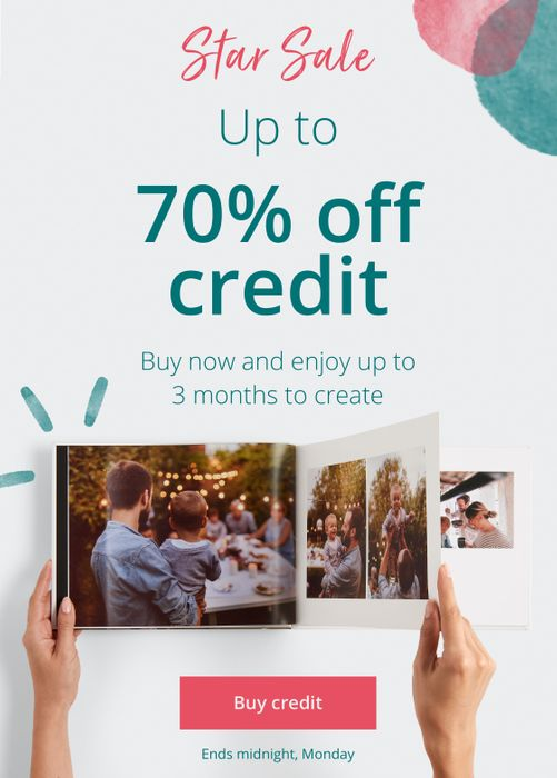 £20 off Orders over £40 at PhotoBox