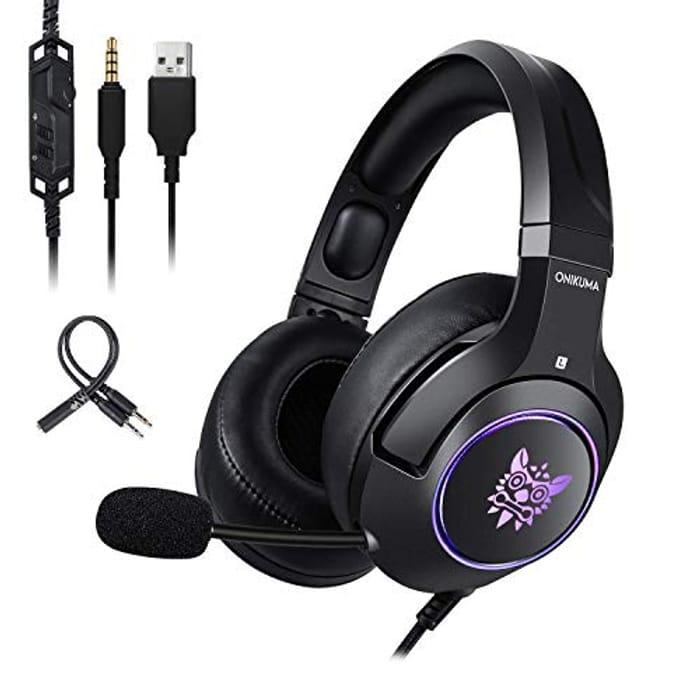 Gaming Headset, 7.1 Surround Sound PC Gaming Headset