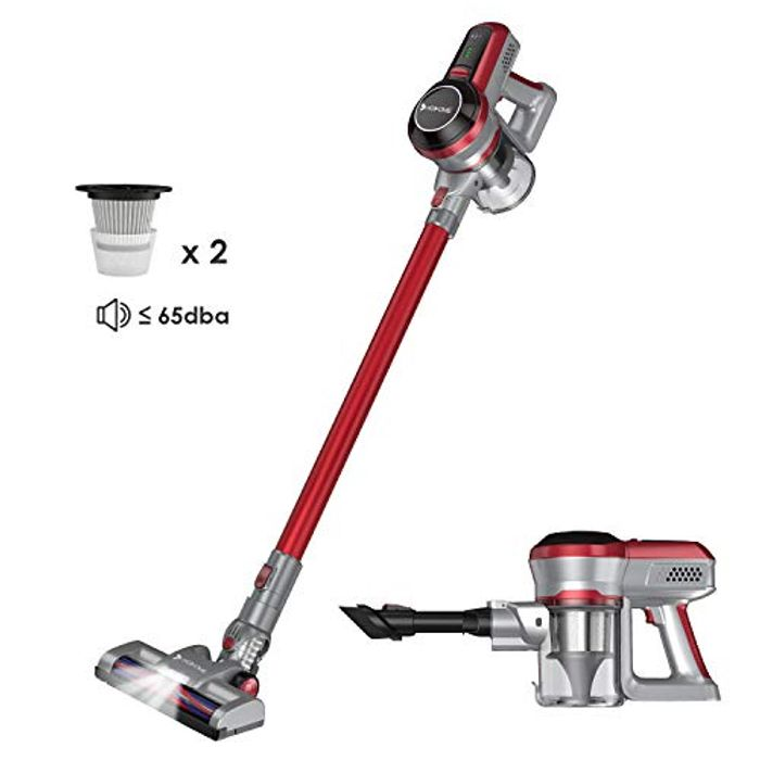 Cheap 2 in 1 Handheld Upright Stick Hosome Cordless Vacuum Cleaner - Save £110