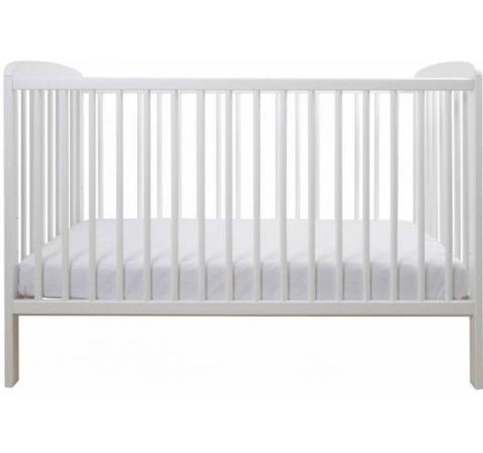 East Coast Aster Cot-White (New) + Free Mattress Only £79.99 Delivered