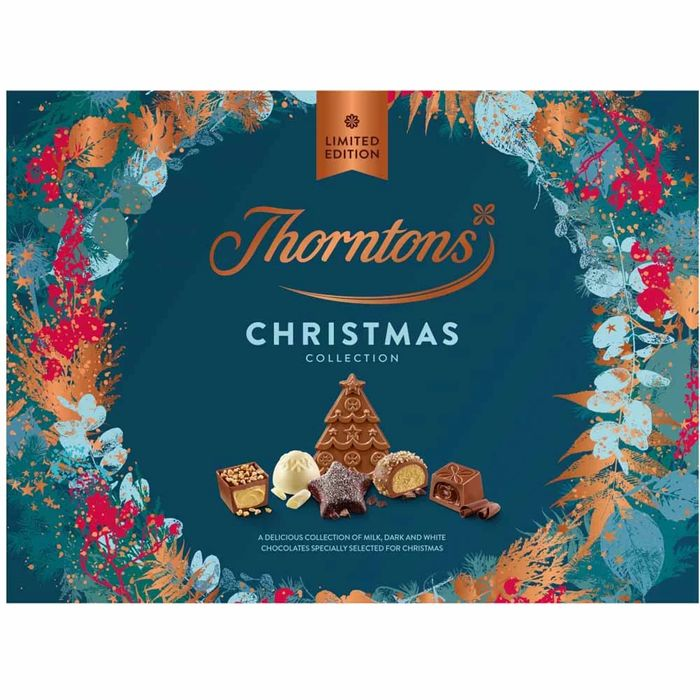 Cheap Thorntons Large Xmas Box 418g, Only £7.5!