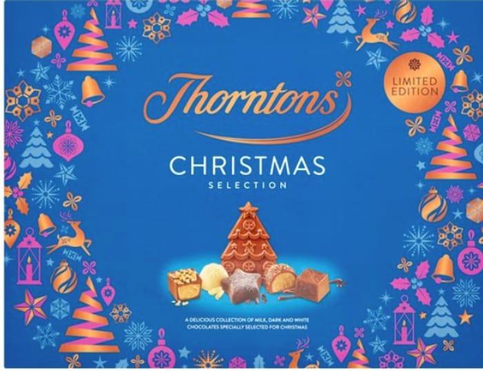 Best Price Thorntons Milk Dark And White Christmas