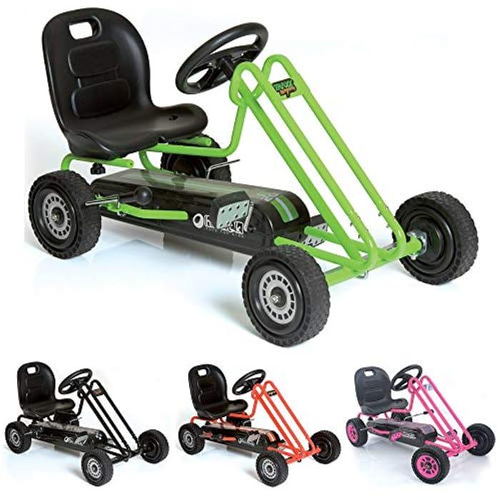 Hauck Lightning - Childrens Pedal Go-Kart,