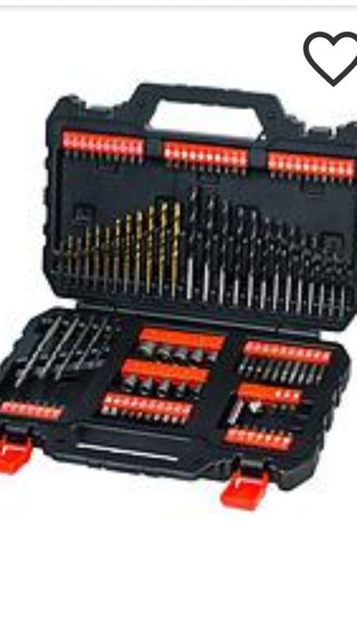 Black and Decker 109 Picec Drill Bit Set