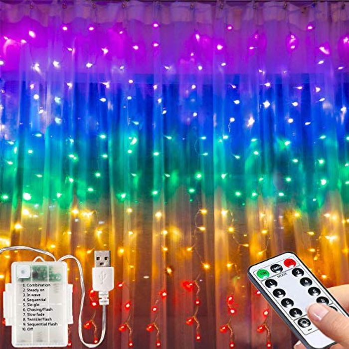 Led Curtain Lights Usb Limited Time Deal
