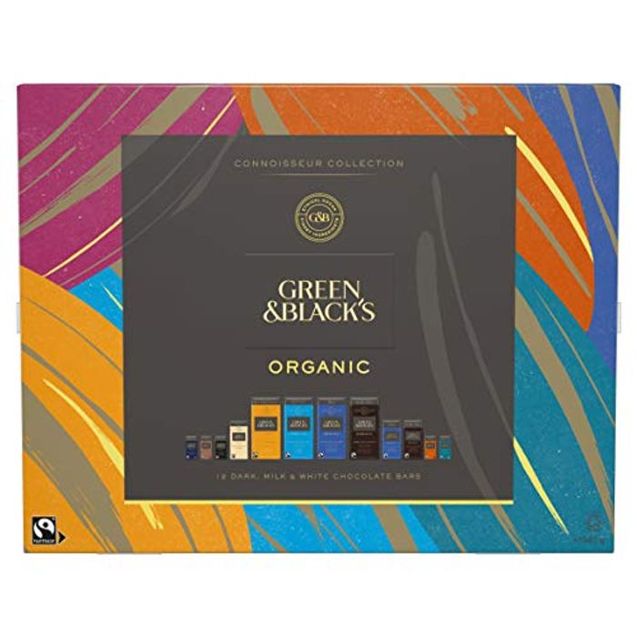 Cheap Green & Black's Organic Tasting Collection Boxed Chocolate, Only £10.99