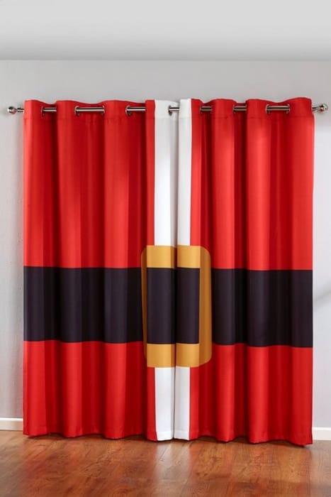 Cute Santa Eyelet Curtains at Studio - Only £19.99!