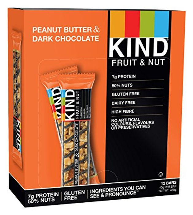 Cheap KIND Peanut Butter Dark Chocolate High Protein and All Natural Only £11.63