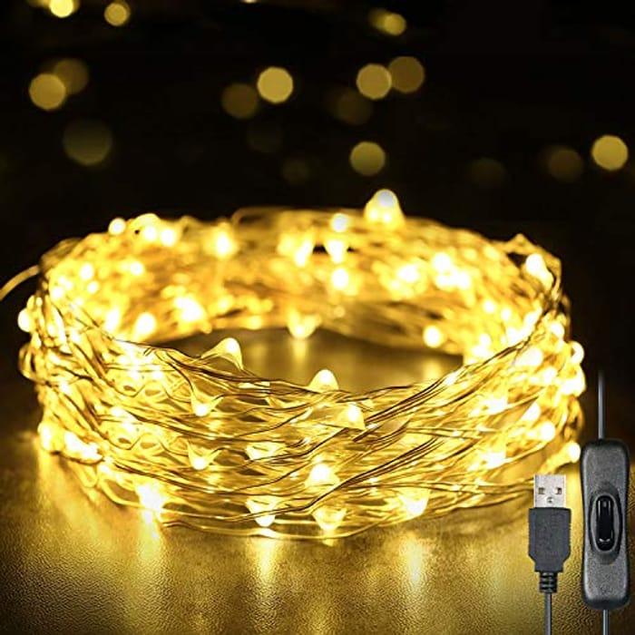 Half Price Christmas Fairy Lights 12 Meters