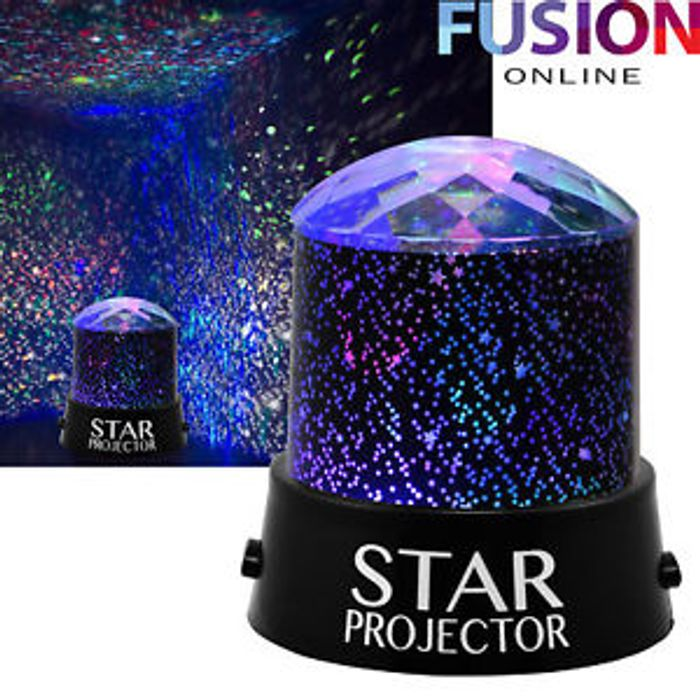 Cheap Star Projector Night Light at Ebay, Only £5.59