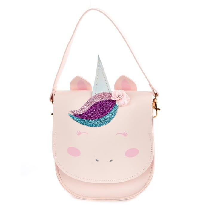 Best Price Pink Christmas Unicorn Handbag at Card Factory