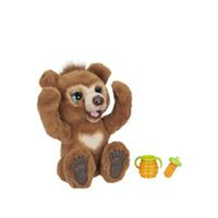FurReal Cubby, the Curious Bear Interactive Plush Toy New Customers Only