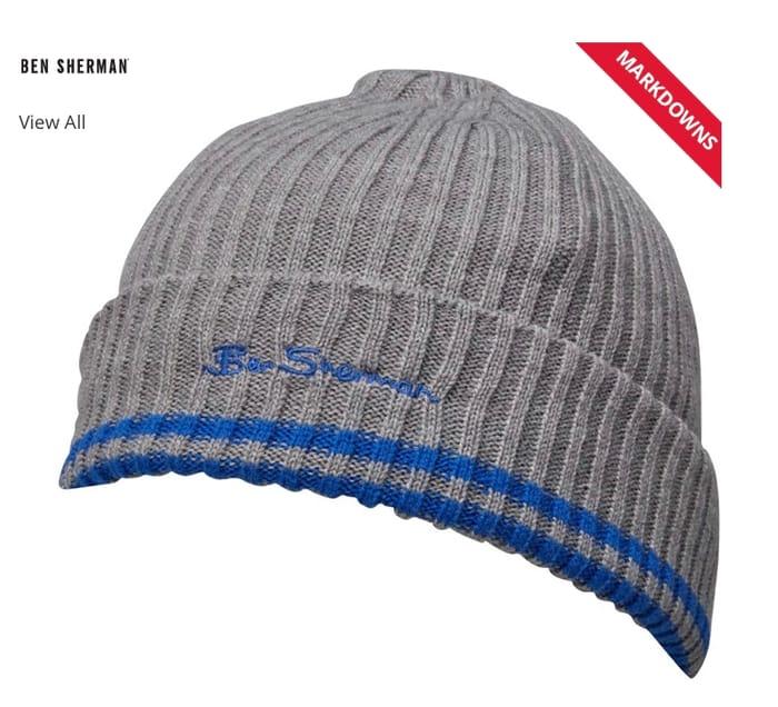 Ben Sherman Boys Beanie Hat