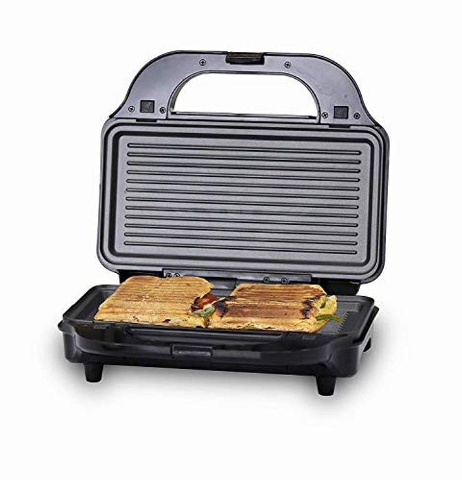 3-in-1 Grill, Sandwich and Waffle Maker