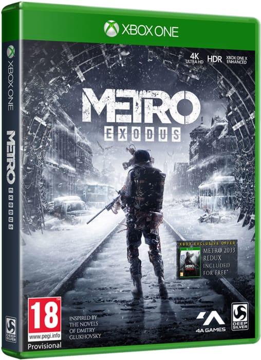 Xbox One / PS4 Metro Exodus + Extras £17.85 at Shopto