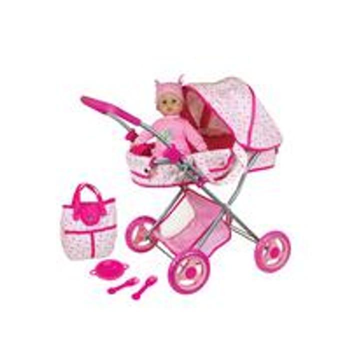 Dolls Pram with Baby
