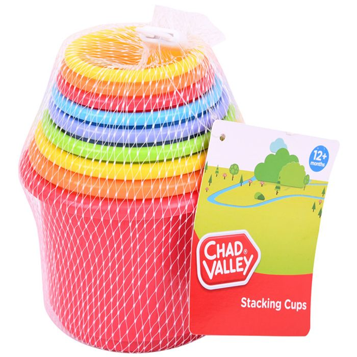 Chad Valley Stacking Cups
