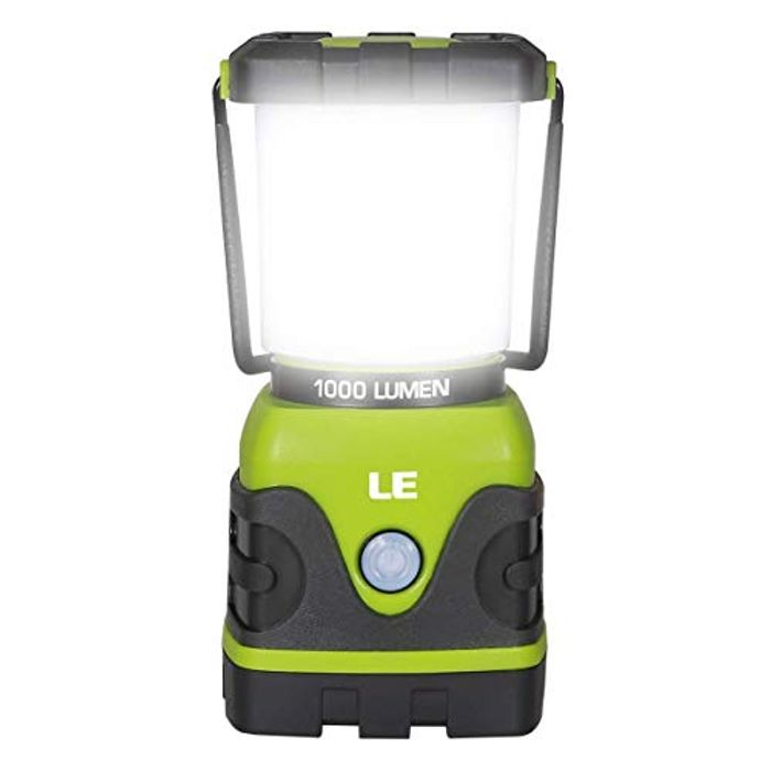 LE Camping Lantern, 1000 Lumen Dimmable LED Camping Light,