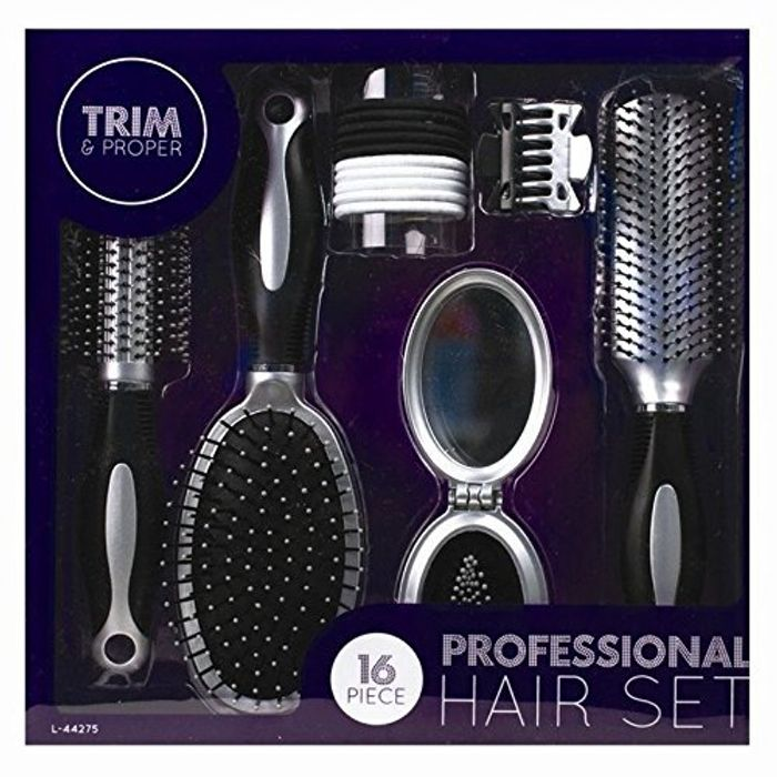 Professional 16 Piece Hair Care Kit Gift Set