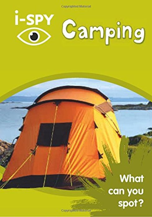 Cheap I-SPY Camping: What Can You Spot? Paperback, Only £1.5!