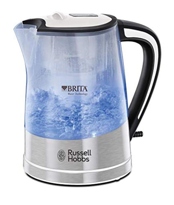 Best Price! Russell Hobbs 22851 BRITA Filter Purity Kettle, 3000 W, 1 Litre,