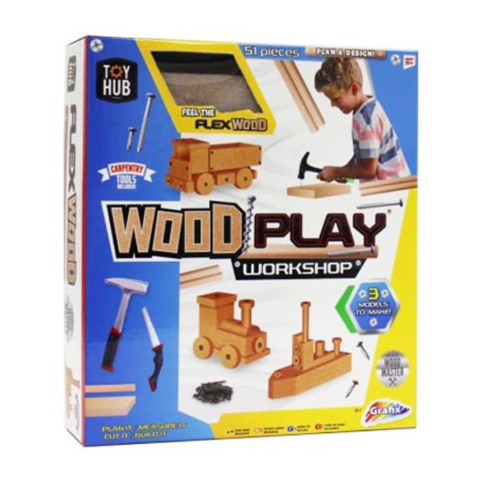 Wood Play Workshop Set - Only £5.74!