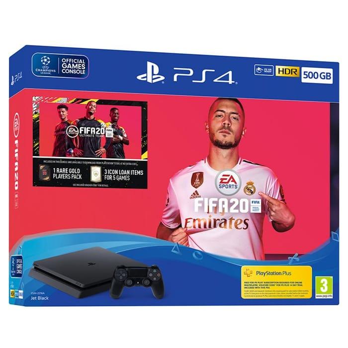 *SAVE £90* Sony PlayStation 4 500GB FIFA 20 Bundle