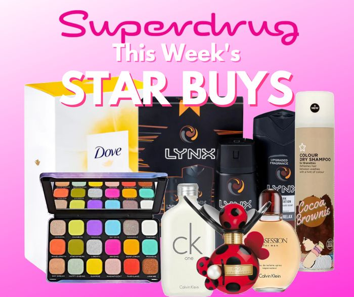 Top Superdrug Star Buys Members Treats Offer Stacks