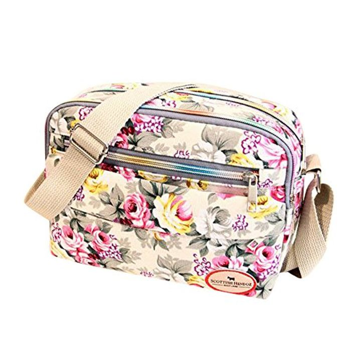 Clearance Vintage Printi Messenger Bag FREE Delivery