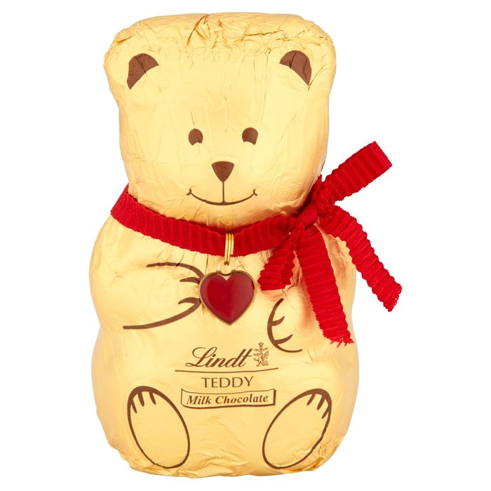 Special Offer Lindt Teddy Milk Chocolate 100g £3 Each or 2 for £5