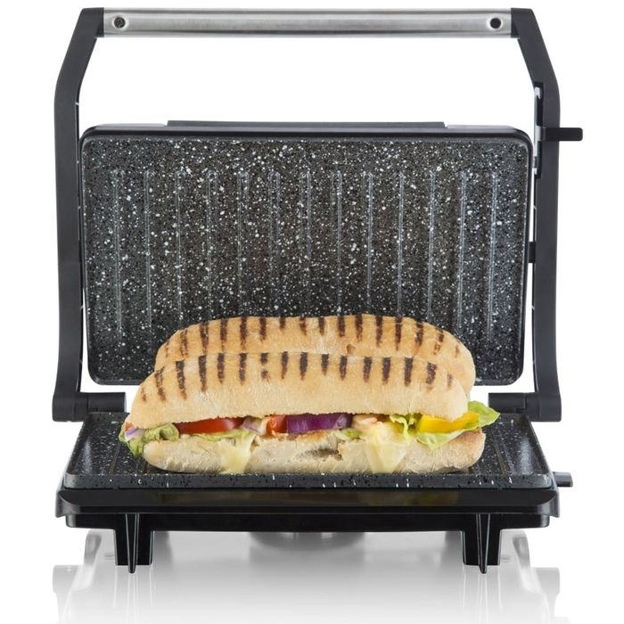 Tower Stainless Steel 750W Mini Panini Press - Just £10.19 with Code