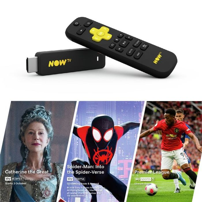 Save £10 on a Now Tv Stick